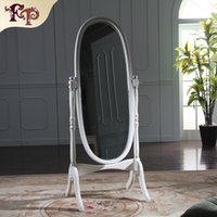 No antique dressing mirror - Antique hand carved furniture European palace classic furniture Dressing mirror