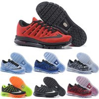air fishes - 2016 New Running Shoes Men Air High Quality Authentic Sneakers Cheap Green Walking Red Black Sports Shoes Size
