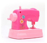 Wholesale Electric toys series Mini play small home appliance sewing machine safety environmental protection