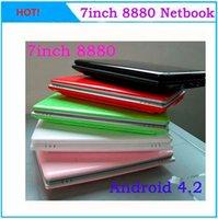 Wholesale hot inch Dual Core Slim Mini Laptop Android VIA Cortex A9 HDMI WIFI Camera G GB Bluetooth option MINI Notebook