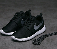 athletic shoes for kids - Cheap Brand kids Roshe Run Running Shoes For baby Women Men Classical Lightweight London Olympic Athletic Outdoor Sneakers big Size