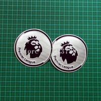 Wholesale premier league patch Soccer patch badge Cashmere material velvet pair