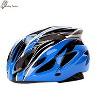 bicycle helmet foam - 2016 Ultralight Breathable Ventilation One Piece Helmet PC shell EPS Foam Bicycle Helmet Lntegrally Molded colors Helmet Cycling Helmets