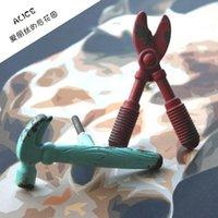 Wholesale AL018 LOFT industrial wind creative personality zinc alloy single hole tool handle door drawer door handle