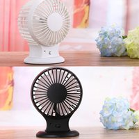 Wholesale Brand New Rechargeable Double Blade USB Mini Fan and Portable Desk Mute Ultra quiet Cooling Fan Speed Modes Summer Supplies