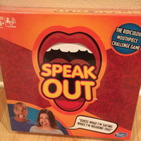 Wholesale P Speak Out Game Best Selling Family Game Night Interesting Party Game Board Game DHL Fast shipping