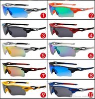 Wholesale DHL shipping Europe and US with big sunglasses sport cycling eye sunglasses fashion dazzle colour mirrors glasses frame sunglasses