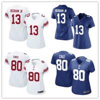 beckham soccer jerseys - Women s New York football shirt Giants Soccer rugby jerseys Eli Manning Odell Beckham Jr Victor Cruz Blue White shirts