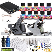 Cheap 2 Guns Tattoo Kits Best Professional Kit Professional tattoo kits Complete Tattoo Kit