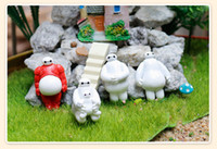Wholesale Beast corps to light micro landscape landscape resin figurines furnishing articles Potted landscape boutique red white