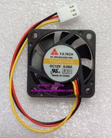 Wholesale 2PCS Original Y S TECH cm fan FD124010HB V A dual ball bearings wires