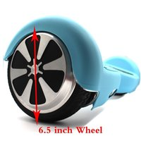 Wholesale 6 inch Hoverboard silicone case Wheel Self Balance Scooter with Bluetooth Protective Sleeve Colorful Scratchproof silicone case by DHL