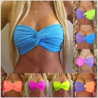 Wholesale 2016 New Hot Sale Women Sexy Criss Cross Bra Ladies Underwear Bras Women s Underwear Beach Wear Colors Sizes