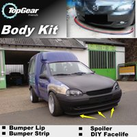 Wholesale Bumper Lips For Fiat Doblo Panorama Pyongwha Ppeokkugi Front Skirt Deflector Spoiler For Car Tuning The Stig Recommend Body Kit Strip