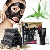 Wholesale Steps Facial Treatment - MY Scheming Blackhead Acne Removal Activated Carbon 3 Steps Mask Set Facial Nose Blackhead Removal Acne Activated Carbon Mask Set KKA236