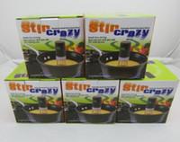 automatic kitchen mixer - Stir Crazy Triangle Whisk Shake Blender Speeds Cordless Stick Blender mixer Automatic Hands Free Kitchen Utensil Egg Tool Retail box