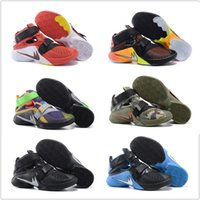 Cheap Original Children Kids 2016 Cheap Basketball Shoes Mens Lebron Soldiers 9 Sneakers Good Quality Authentic LB New Style Sport Shoes Size 7-12