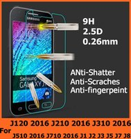 Wholesale For Samsung Galaxy J120 J210 J310 J510 J710 Tempered Glass Anti Explosion Protective For Samsung Galaxy J1 J2 J3 J5 J7 J8
