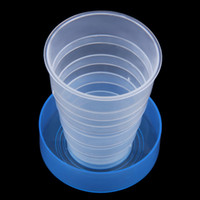 Wholesale Portable Travel Cup Retractable Folding Mini Telescopic Collapsible Outdoor