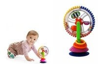 baby stroller wheel - Baby Chair Stroller Toys Sucker Turn Ferris Wheel Rotating Windmill Rattles Educational Early Childhood Toys Best Gift Children