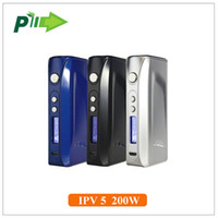 Wholesale Authentic IPV w box mod Pioneer4you IPV5 tc mod with SX330 YiHi chip vs RX200S sigelei w