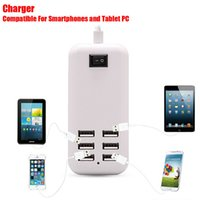 ac power line - 25W m Line Port EU USB Power Port Home Wall Travel Charger AC Power Adapter For iphone s s c s plus Samsung S3 S4 S6