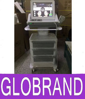 Wholesale NEW Hot High Intensity Focused Ultrasound Face Lift HIFU Machine for Beauty Salon with inch color touch screen GLO129