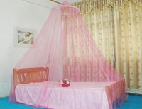 Wholesale Summer Hot Selling Mosquito Net Good Sleeping Beauty Lace Bed Curtain Netting Canopy Anti Mosquito Prevent Mosquito Bite Insect Fly Stop