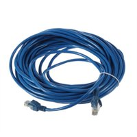 Wholesale 50FT RJ45 CAT5 CAT5E Ethernet Network Lan Router Patch Cable Cord Blue M Brand New