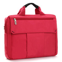 apple computer bag - New Shockproof Laptop Bag Case Red Computer Bag Notebook Cover Bag inch for Apple Lenovo Dell Computer bag