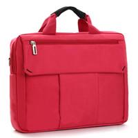 Acheter Lenovo ordinateur portable 14 pouces-Nouveau sac à dos d'ordinateur portable à l'épreuve des chocs Sac à ordinateur rouge Sac à couverture d'ordinateur portable 13 / 14/15 pouce pour Apple Lenovo Dell Computer bag