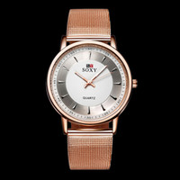 Wholesale Fashion Woman Wrist Watch Japanese Movement Rose Gold Round Dial Classic Business Quartz Watch Relogio Feminino Brand Luxury