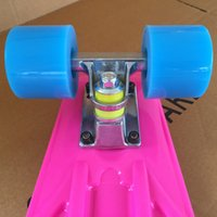 Wholesale New Mini Cruiser Skateboard Complete quot Skate Board Roller Hover Standing Drift Board Unicycle Longboard