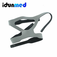 Wholesale idunmed Perfect Adjustable Grey CPAP APAP BiPAP Headgear Strap Harness For Mask Respirator For Sleep Apnea Anti Snoring
