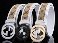 Wholesale 2016 classic luxury fending belt fashion GG belt crime hot designer took me male brand of high quality leather ff belt Big buckle lv belts