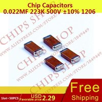Wholesale Chip Capacitors uF K V nF pF Package1206 Metric SMD