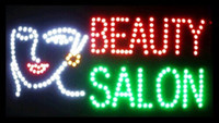 Wholesale 2016 Special Offer Hot Sale Graphics mm indoor Ultra Bright Inch BEAUTY SALON Business Shop sign of led