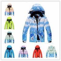 Wholesale Cheap Ski Jacket Women Men Thicken Warm Breathable Unisex Snowboard Jacket Female Waterproof Windproof Jacket