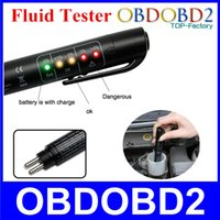 best car brakes - Best Quality Brake Fluid Tester Mini Electronic Pen With LED For DOT3 DOT4 Car Vehicle Diagnostic Tools Car Accessories