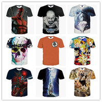 animal definitions - The new fashon summer Europe and the United States city boy lady d short sleeve T shirt high definition printing cartoon character