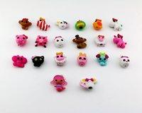 baby playhouses - Cartoon Anime MGA Mini Lalaloopsy Doll Decorations Accessories Girls Birthday Gift Playhouse Baby Kids Toys