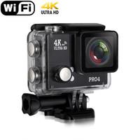 Wholesale Wifi K Waterproof Sports Camera HD P Helmet Action Camera Motorcycle Mini Digital Video Recorder Diving SJ8000 Gopro Hero PWS