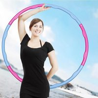 Wholesale KG Dia cm hula hoop waist workout for Beginner freeshipping