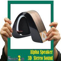 alpha shape - Alpha Shape Bluetooth Wireless Stereo Speakers Mini Car Computer Portable Speaker Call Hansfree Support FM TF Card VS New Pill Pill XL