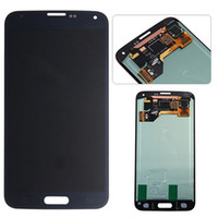 Wholesale Original For Samsung Galaxy S5 G900F G900A G900V G900S G900T G900P G900 I9600 LCD Assembly Display Touch Screen Digitizer New Replacement