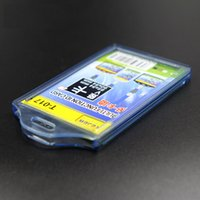 Wholesale Wholesales soft ID Card Holders PVC Name Badge Card transparent name tag holders