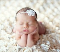 Wholesale 100 cm Baby Photo Props D Rose Fabric Blanket photo backdrops Satin Rosette photo Background Beanbag Photo Rug
