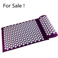 acupressure foot mat - Acupressure Mat and Pillow two in One set Body Head Back Foot Massage Cushion Shakti Mat Yoga Message free ship drop ship