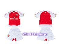arsenal soccer jersey youth - New kids jerseys with shorts Arsenal youth soccer jerseys AAA Quality boys football shirts ALEXIS OZIL ET