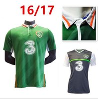 Wholesale new Republic of Ireland national football team Jersey Ireland home Soccer Jersey EURO CUP Irish football shirts